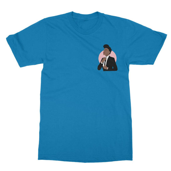 Musical Icon Apparel - Janelle Monae T-Shirt (Left-Breast Print)