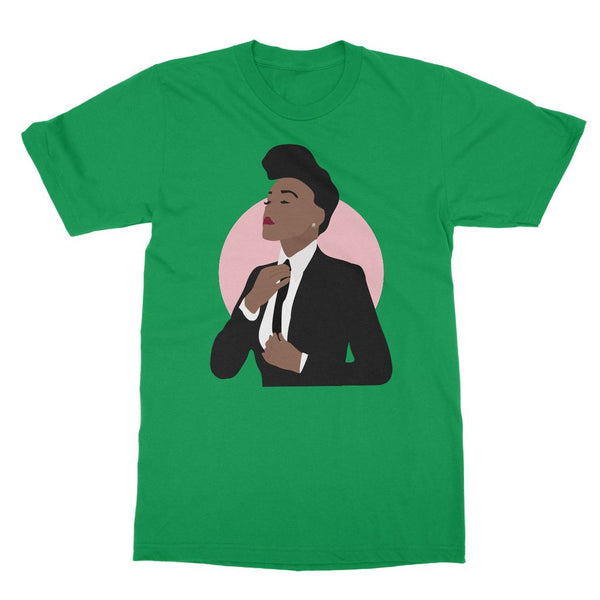 Musical Icon Apparel - Janelle Monae T-Shirt (Big Print)