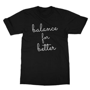 Balance For Better International Women's Day Unofficial Women's Rights Equality Softstyle T-shirt