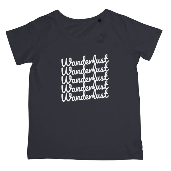 Travel Collection Apparel - Wanderlust Print T-Shirt (Women's Fit)