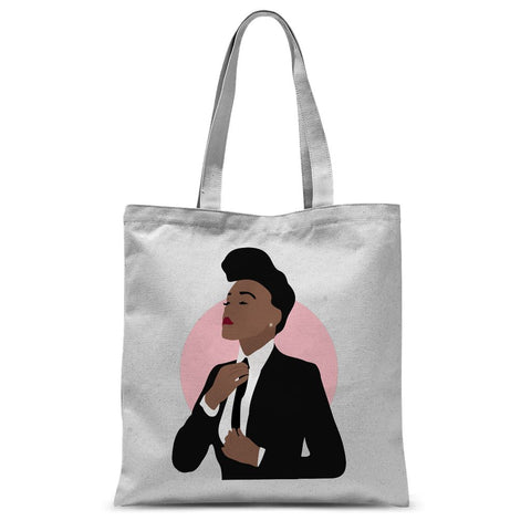 Musical Icon Apparel - Janelle Monae Tote Bag