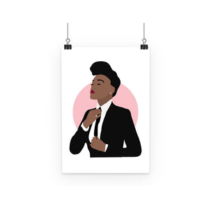 Musical Icon Poster - Janelle Monae