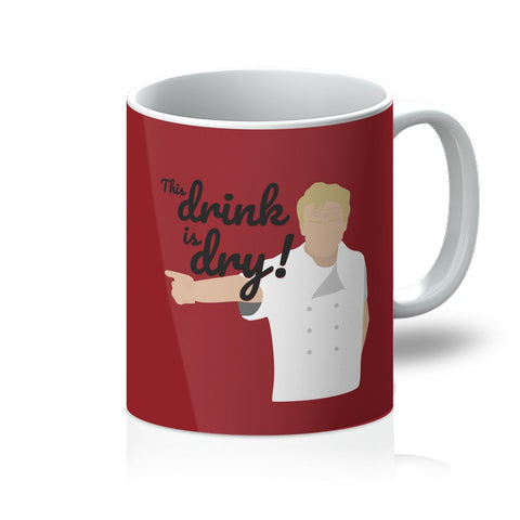 Gordon Ramsay Homeware - 'This Drink Is Dry' Mug