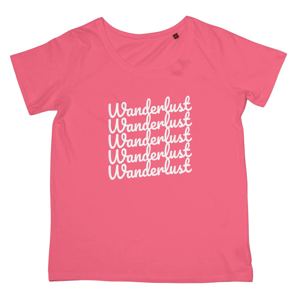 Wanderlust shirt - travel fashion for women