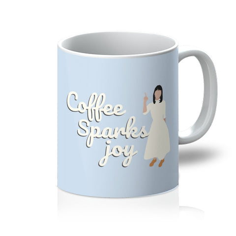 Marie Kondo Homeware - 'Coffee Sparks Joy' Mug