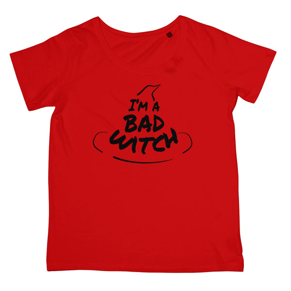 Halloween Apparel - I'm a Bad Witch  Women's Retail T-Shirt