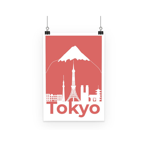 Travel Collection Homeware - Tokyo Minimal Print Poster