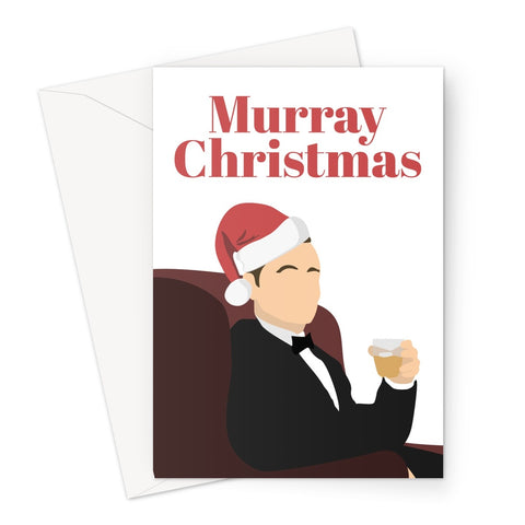 Murray Christmas Bill Fan Lost in Translation Bob Harris Greeting Card