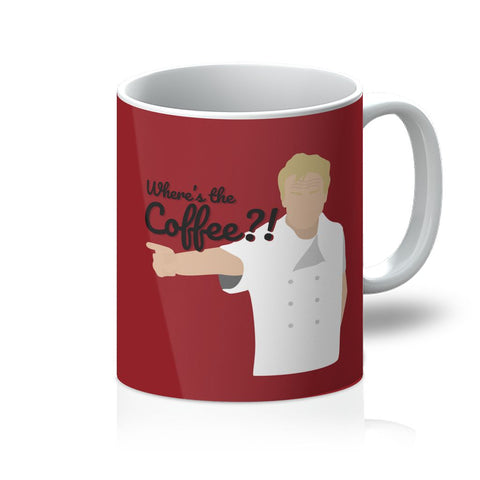 Gordon Ramsay Homeware - 'Where's The Coffee' Mug