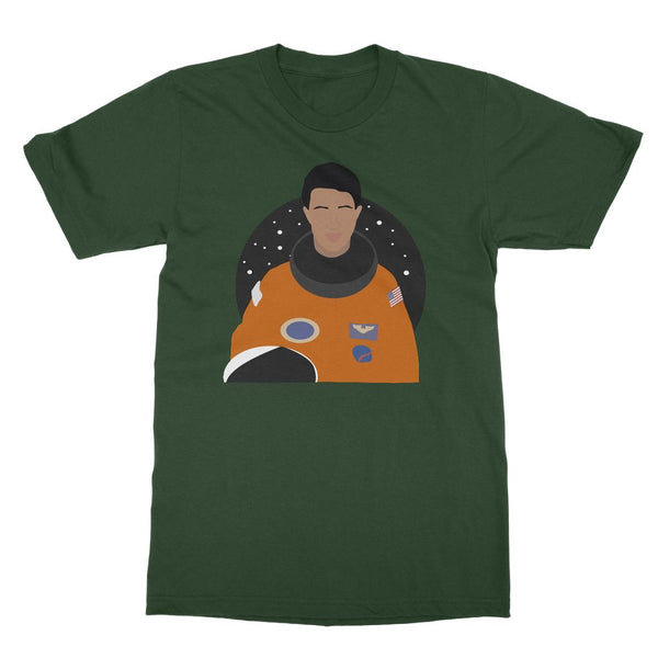 Mae C Jemison T-Shirt (Cultural Icon Collection, Big Print)