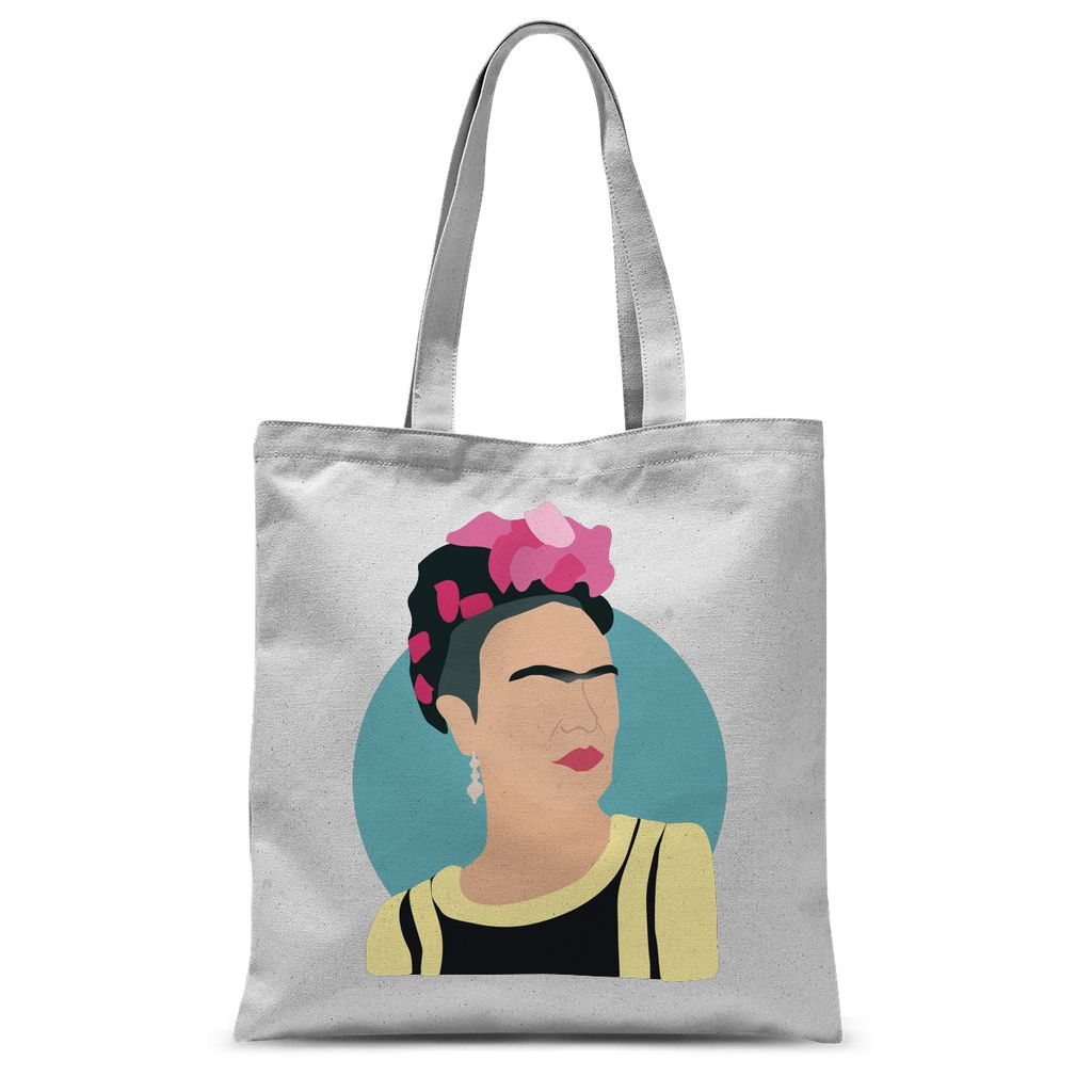 Cultural Icon Apparel - Frida Kahlo Tote Bag