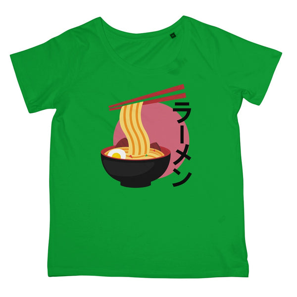 Foodie Collection Apparel - Ramen T-Shirt (Japan-Themed Apparel) Women's Retail T-Shirt