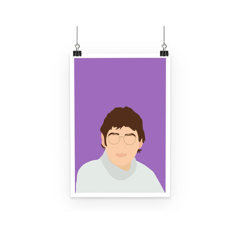 Louis Theroux Poster (Retro/Minimalist)