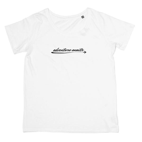 Adventure Awaits T-Shirt - Women's Fit