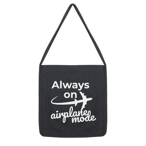 In-Flight Fashion - Always On Airplane Mode Tote Bag