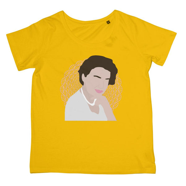 Rosalind Franklin T-Shirt (Cultural Icon Collection, Women's Fit, Big Print)
