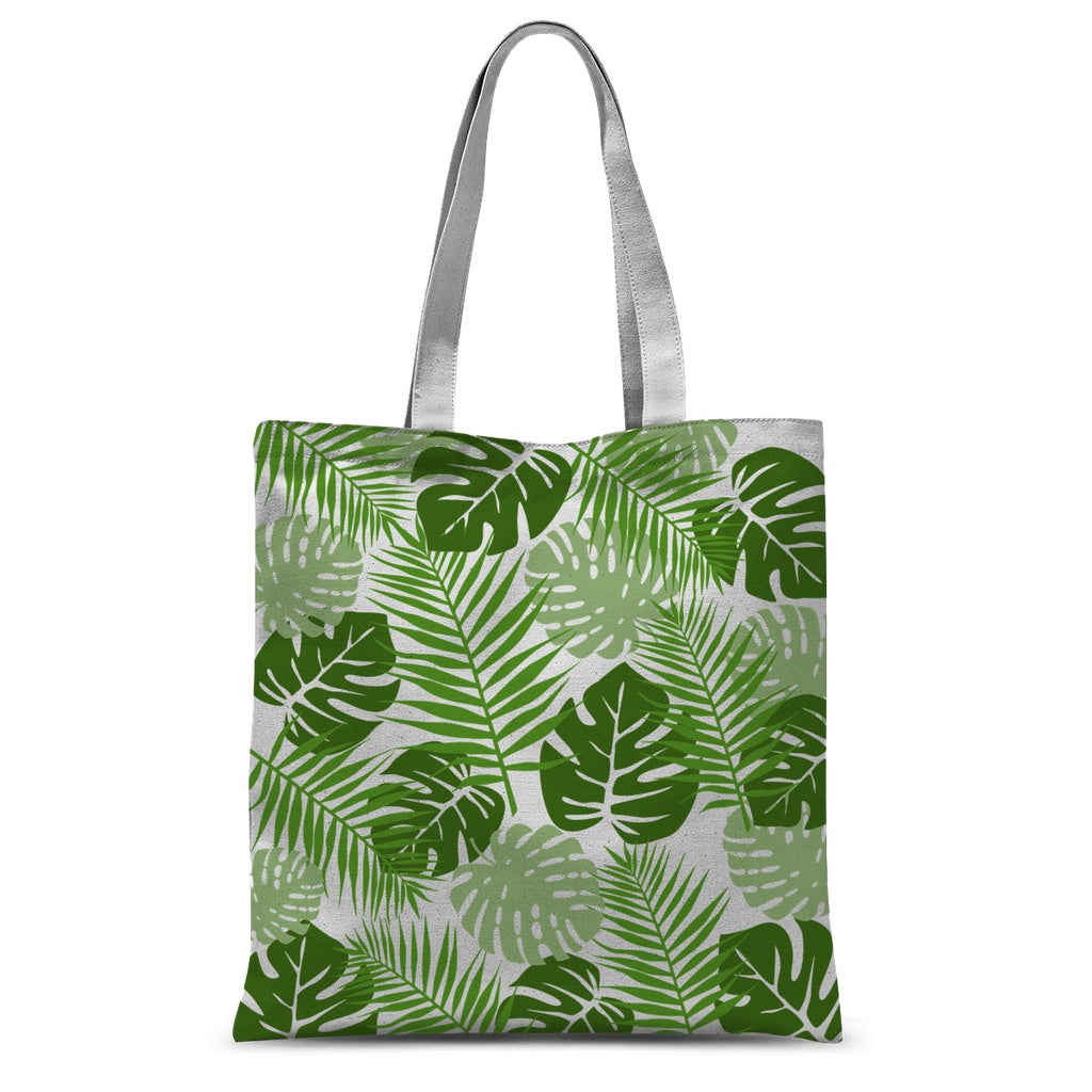 Palm Leaves Nature Colletion Tote Bag