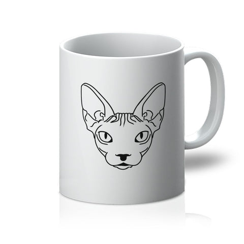Nature Collection Homeware - Hairless Cat/Sphynx Mug