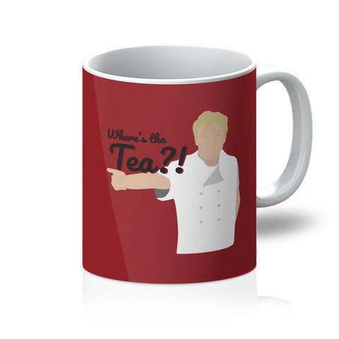 Gordon Ramsay Homeware - 'Where's The Tea' Mug
