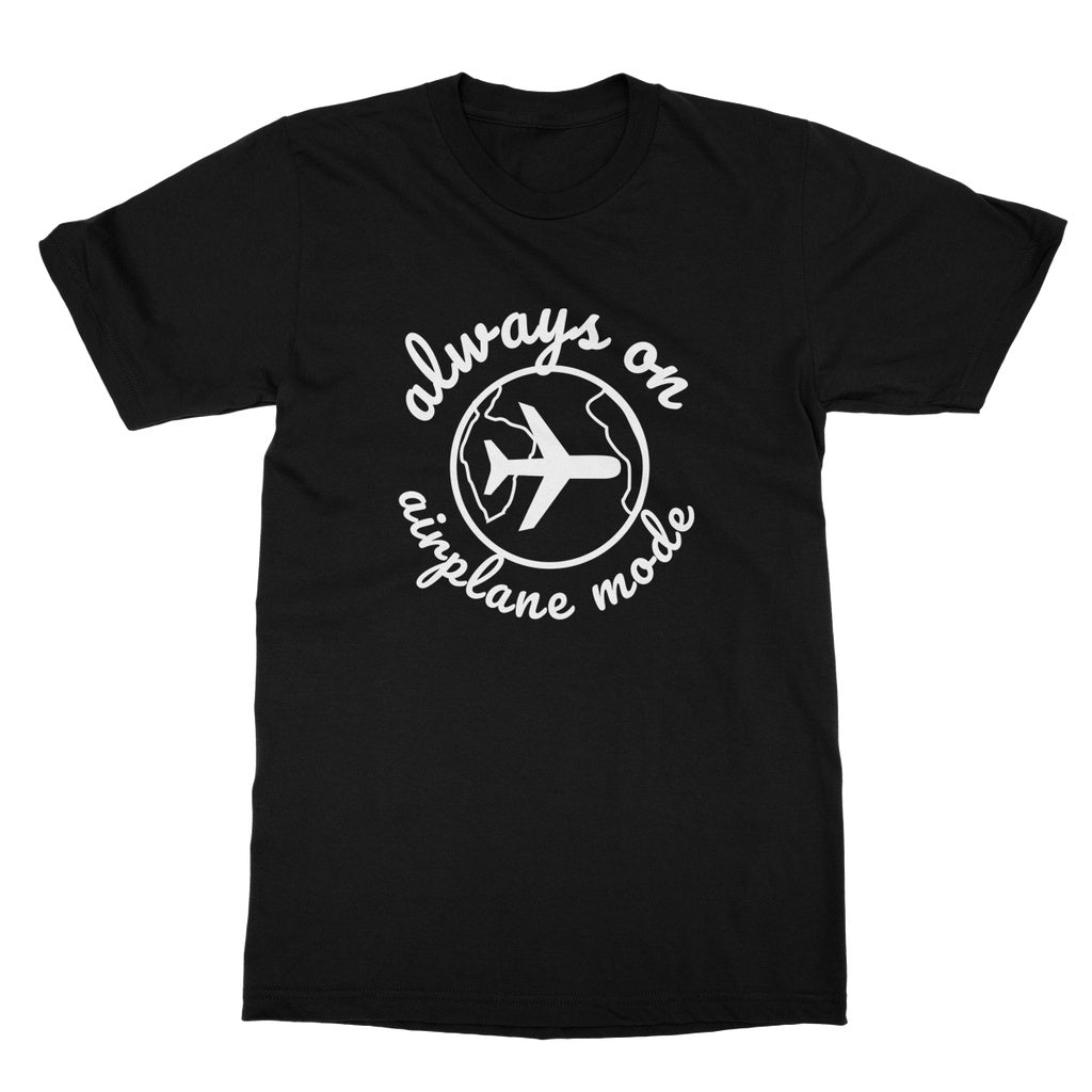 Always On Airplane Mode T-Shirt