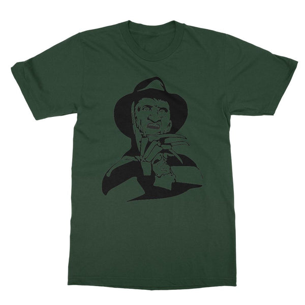 Nightmare on Elm Street Freddy Krueger T-Shirt (Halloween Collection, Big Print)