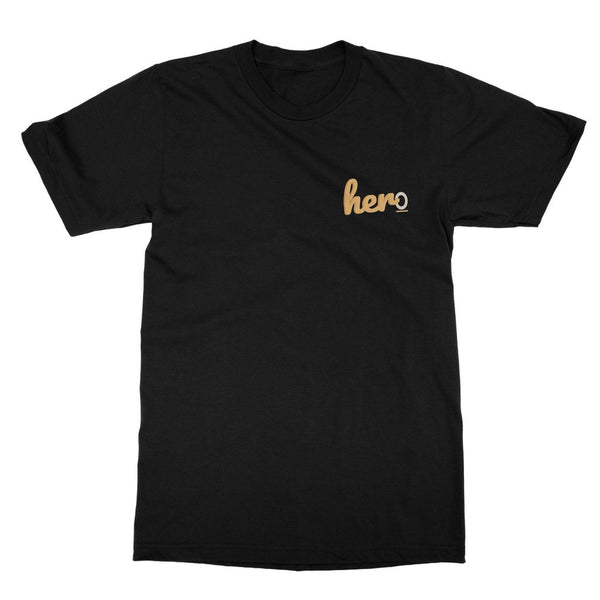Captain Marvel Apparel - Her/Hero T-Shirt