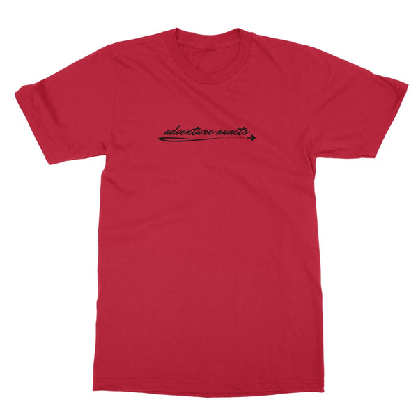 Travel Collection Apparel - 'Adventure Awaits' Softstyle T-Shirt