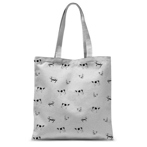 Nature Collection Apparel - All-Over Print 'Vegan Friendly' Tote Bag