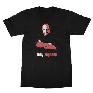 Tony Soprano Black T-Shirt
