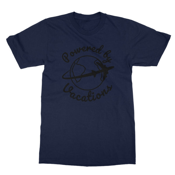 Travel Collection Apparel - Powered by Vacations T-Shirt