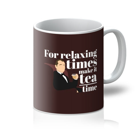 For Relaxing Times Make It Tea Time Bob Harris Bill Murray Lost In Translation Film Movie Fan Birthday Gift Anniversary Love  Mug