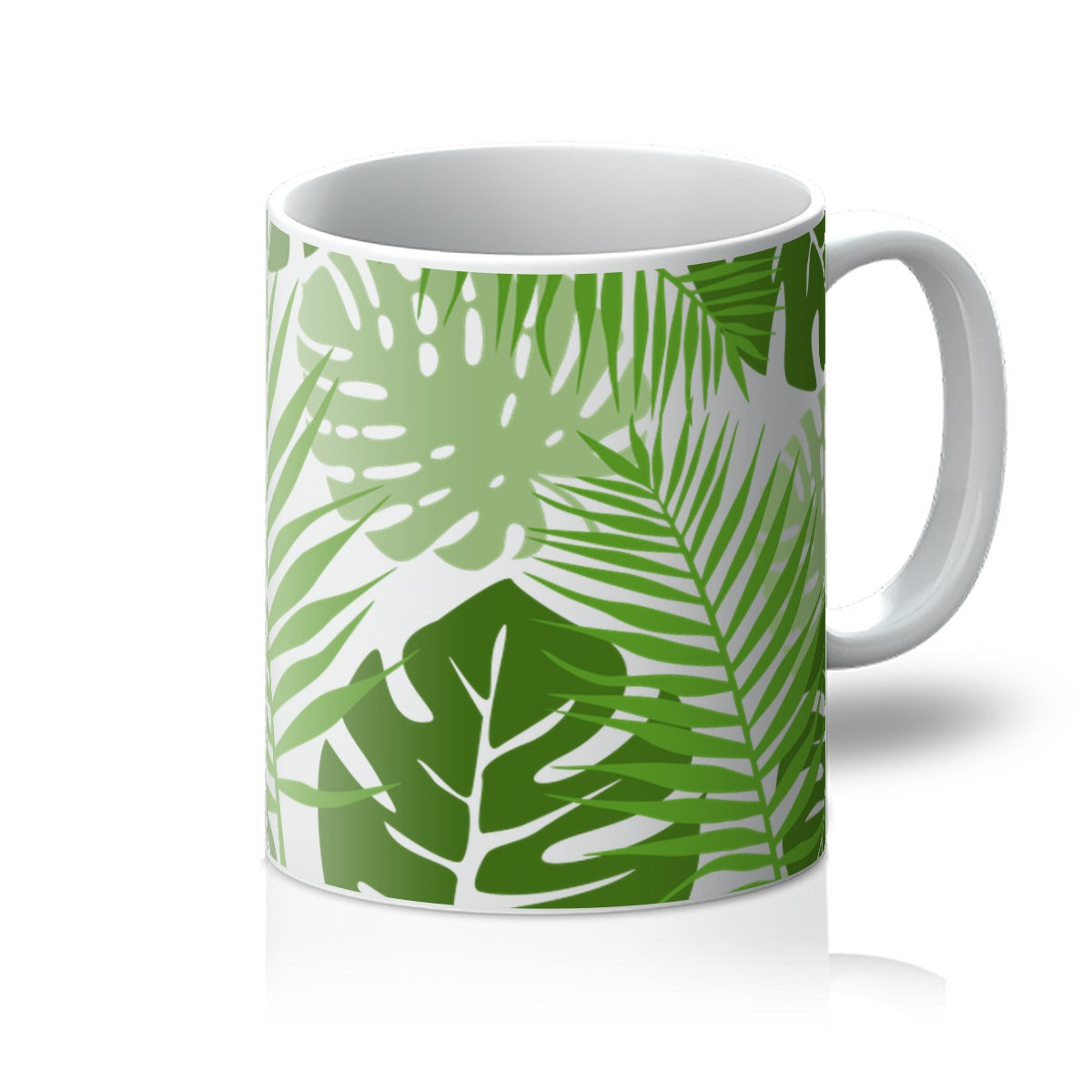 Palm Leaves - Nature Collection - Love Gift Fan Summer Vibes Tree Fresh Mug