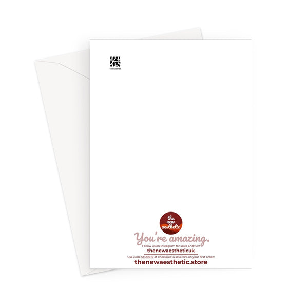 I Got You Some Tickets (Red Version) Pandemic Quarantine Travel Greeting Card