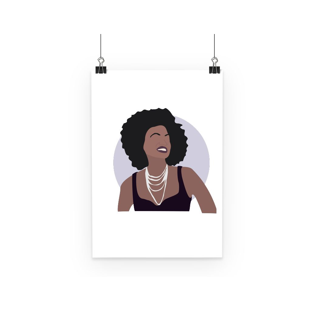 Hollywood Icon Poster - Viola Davis