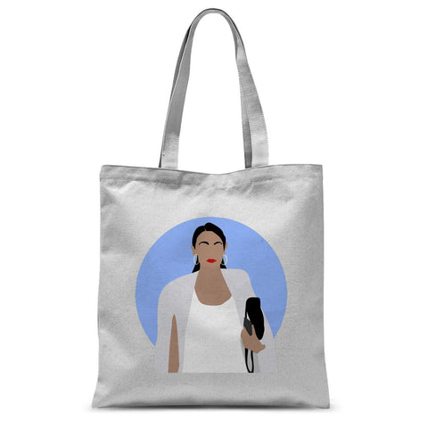 Alexandria Ocasio Cortez AOC Tote Bag (Culture Icon Collection)