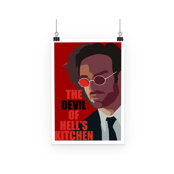 The Devil of Hell's Kitchen Daredevil Matt Murdock Poster