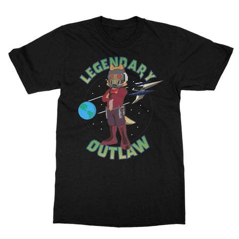 Star Fox / Star Lord Mash Up T-Shirt (Gamer Collection)