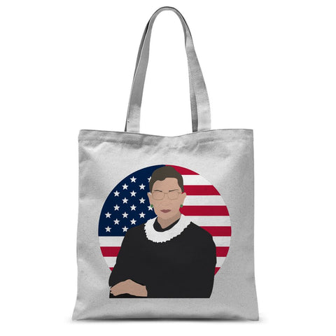 Cultural Icon Apparel - Ruth Bader Ginsburg (RBG) Tote Bag