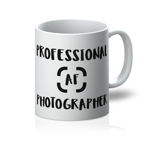 Travel Collection Homeware - Professional AF Photographer Mug