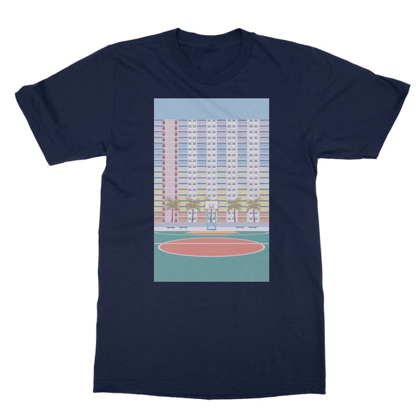 Travel Collection Apparel - Hong Kong Choi Hung Basketball Court T-Shirt