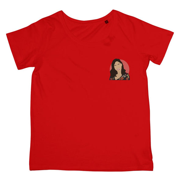 Hollywood Icon Apparel - Constance Wu Women's Fit T-Shirt (Left-Breast Print)