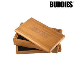 Buddies Stained Pine Sifter Box Medium