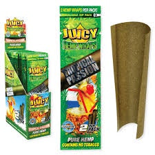 Juicy Jay Hemp Wraps Tropical Passion 2 PK