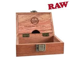 Raw Natural Rosewood Smokers Box