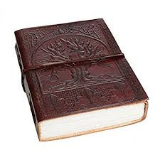 Leather Journal Tree of Life