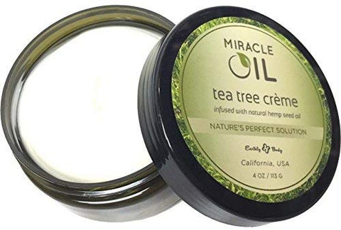 Earthly Body 4 oz Miracle Oil Cream