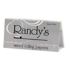"Randy's Silver Rolling Papers 1 1/4"" 24PK"