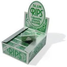 Rips Green Papers On Roll Slim 15ft