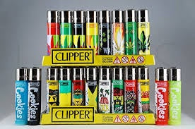Clipper Refillable Lighters