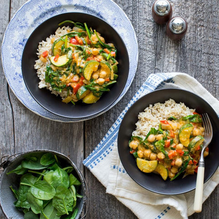 Coconut Chickpea Curry (Vegan)